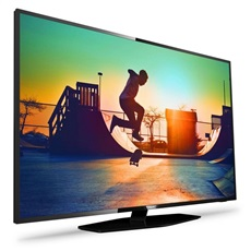 "Televisor LED Philips 55PUS6162 4K Ultraplano SmartTV 55"" Quad Core"