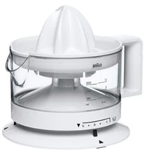 Braun CJ 3000 - Exprimidor TributeCollection 20W 350ml Automático Blanco