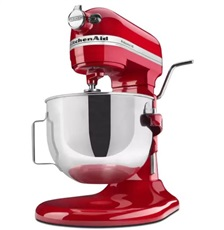 Kitchen Aid 5KPM5EER - Robot de cocina Heavy Duty de 4.8L Color Rojo