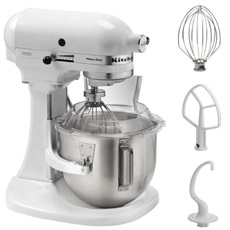 Kitchen Aid 5KPM5EWH - Robot de cocina Heavy Duty de 4.8L Color Blanco
