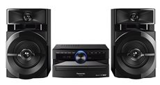 Panasonic SC-UX100 - Microcadena Hi-Fi 2 Altavoces Bluetooth USB