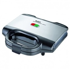 Tefal SM155212 - Sandwichera UltraCompact Black&Inox 700W Antiadherente