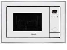 Teka 40584203 - Microondas WISH ML 820 BIS Integrable Grill Blanco