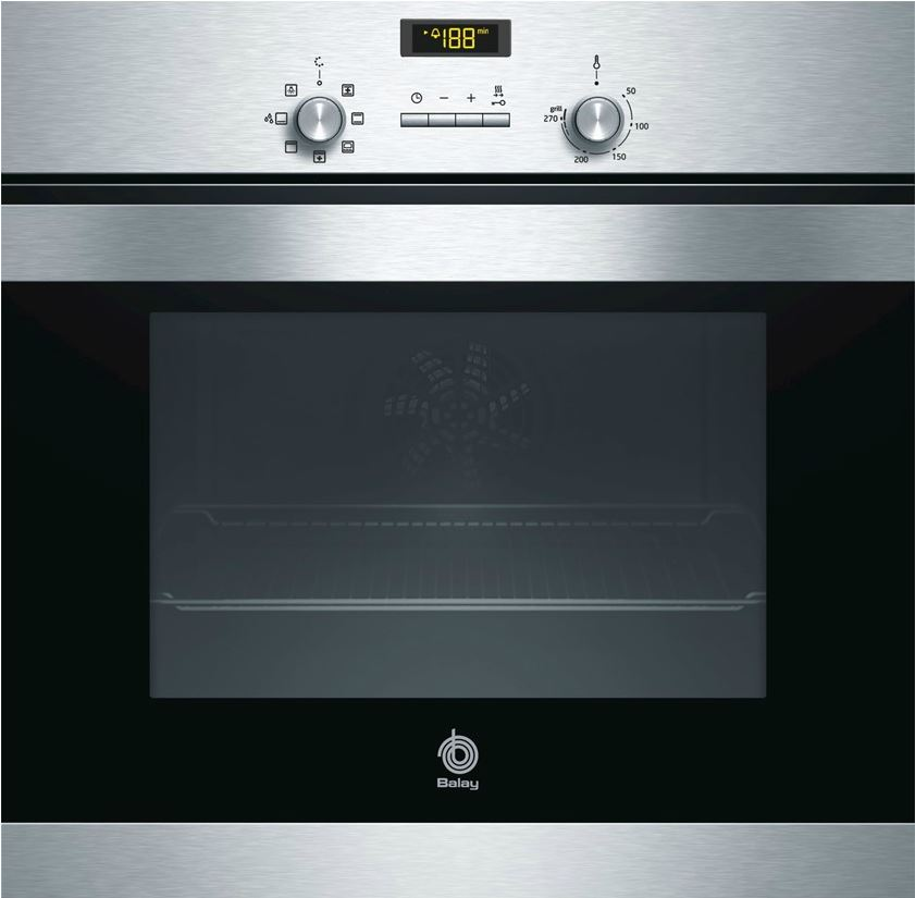Horno Balay 3HB506XM Aqualisis Multifunción Inoxidable Clase A - Zoom