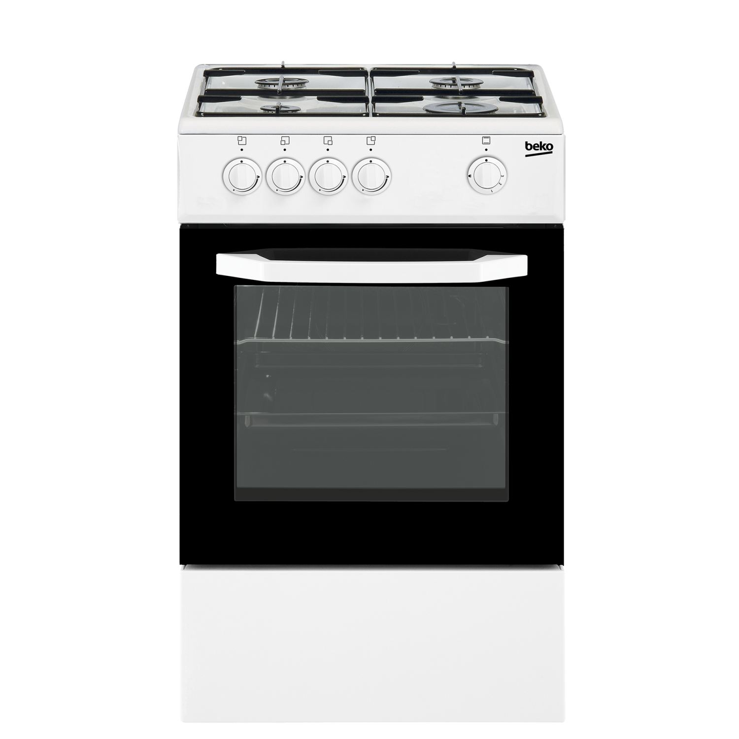 beko csg42010dwn cocina independiente de gas natural