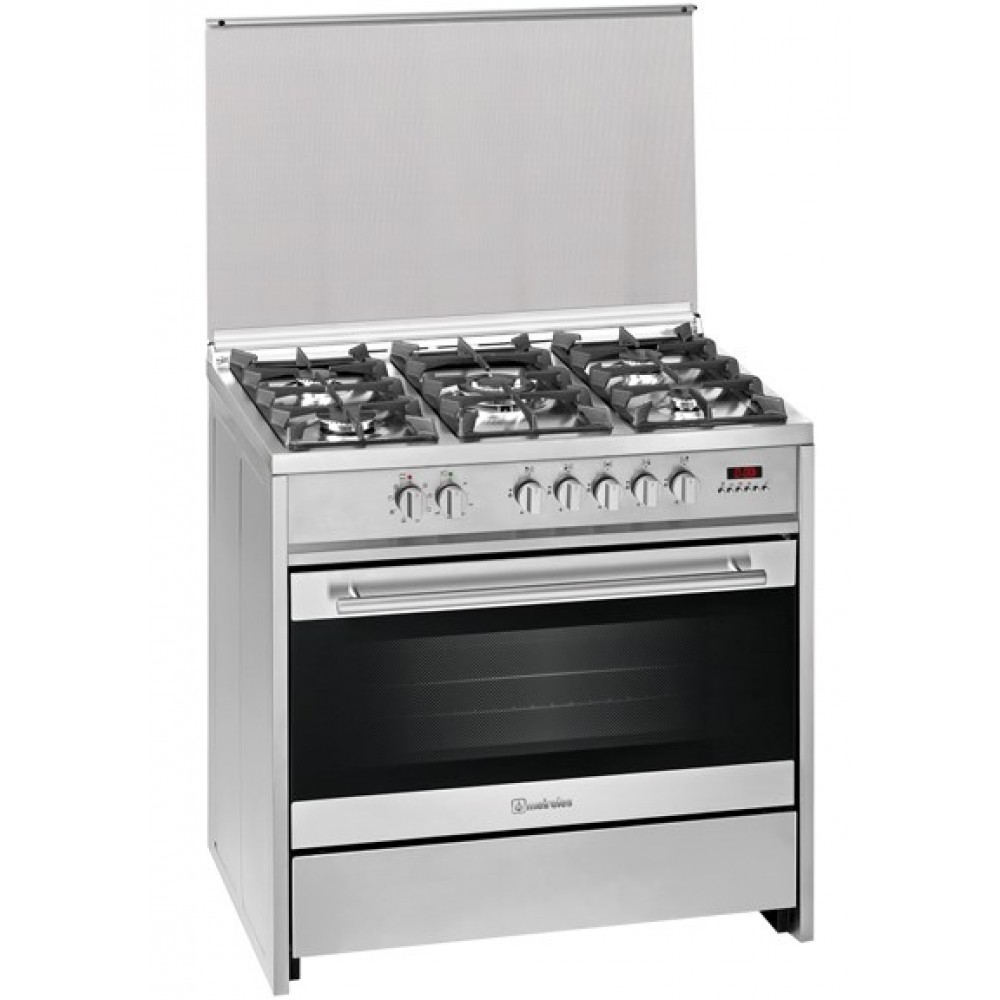 Cocina de gas natural horno meireles e 910 x nat 90cm for Cocina para gas natural