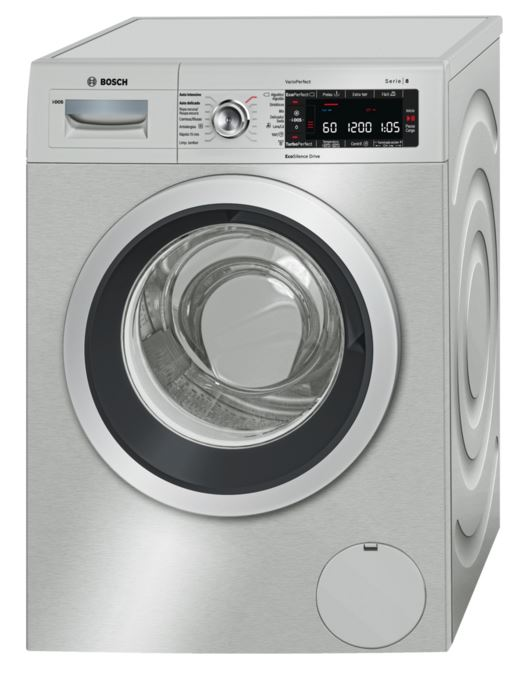 Lavadora Bosch WAW2869XEE 9 Kg, 1400 Rpm Acero Inoxidable A+++-30% - Zoom